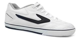 Tenis Futsal Dominator Iii 4138546 - Topper (02) - Branco/az