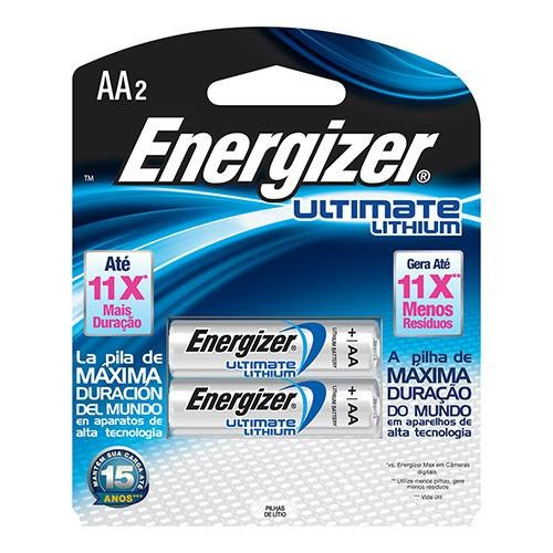 Pilha Energizer Ultimate Lithium Aa Energizer Pilha