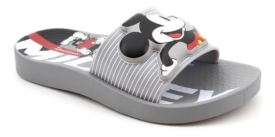 Chinelo Infantil Slide Grendene Mickey 26424 Loja Pixolé
