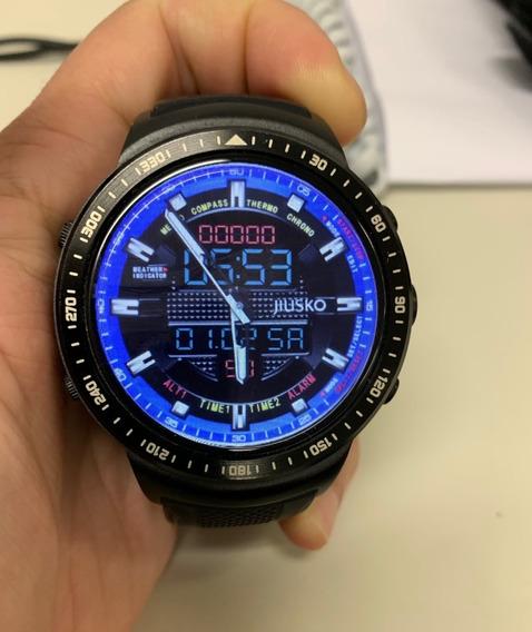 Relógio Smartwatch Thor Zeblade Pro 1.53 Pol 16 Gb Memória