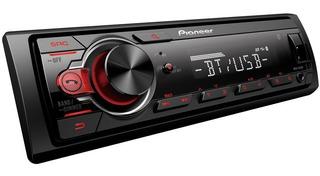Autoradio Pioneer Bluetooth Mvh-s215bt Usb Led Desmontable