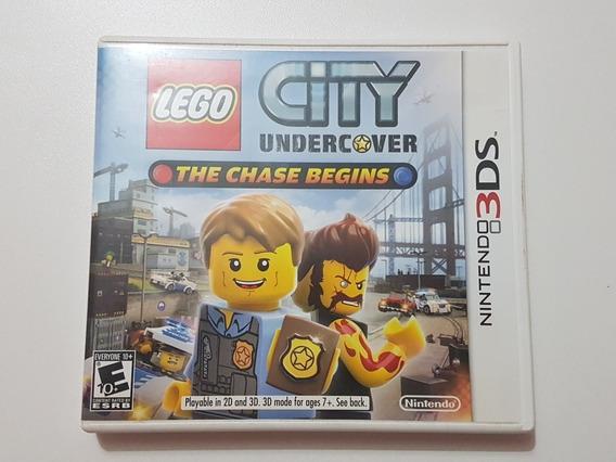 Capa Lego City Undercover Original Para Nintendo 3ds
