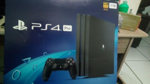 Console Playstation 4 Pro Ps4 1tb 1 Tera Byte 4k - Lacrado !