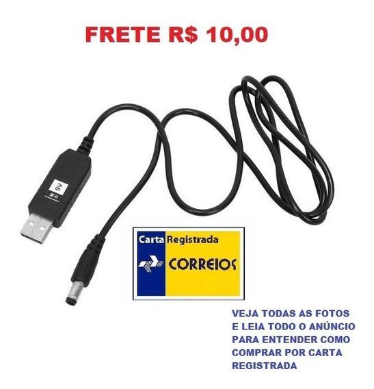 Cabo Usb Dc 5 V P/ Dc 12 V Step Up Módulo Conversor Frete 12