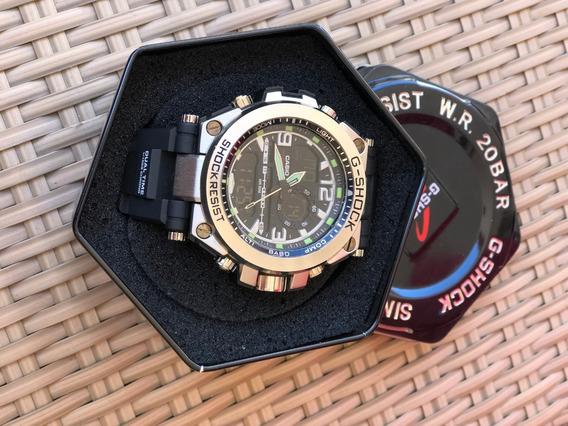 Relógio Casio Original G-shock Resist Wr 20bar. Nunca Usado!