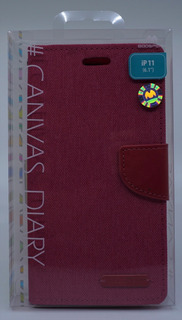 Funda iPhone 11 (6.1) Mercury Goospery Canvas Diary