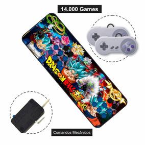 Arcade Fliperama Portátil 14000 Controle Duplo Frete Grátis