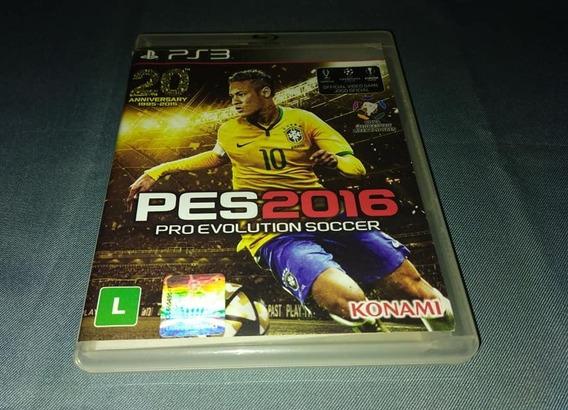 Pes 2016 Playstation 3 Mídia Física