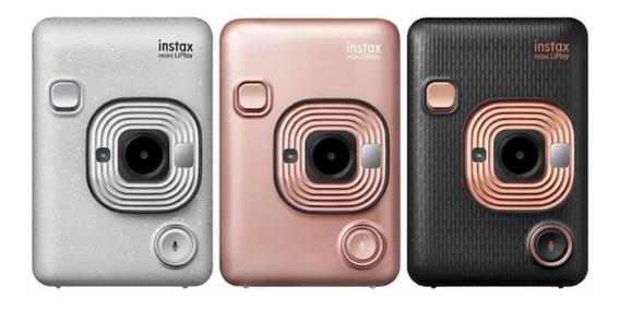 Camera Instax Mini Liplay - Fujifilme C Pacote De Filme 60un