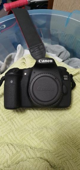 135camera Canon 60d + 18-135 + 70-300 + Flash + Mochila
