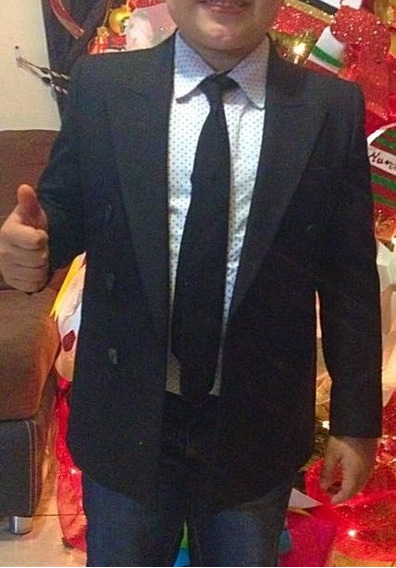 Saco De Vestir Niño Oscar De La Renta Talla 10