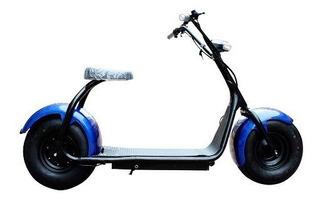 Scooter Moto Eléctrica, Tipo Harley, Hasta 60km Novicompu