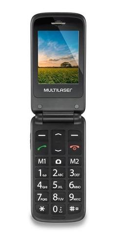 Multilaser Flip Vita Dual SIM 32 MB vermelho/preto 32 MB RAM