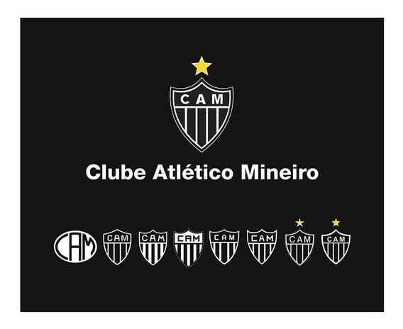 Mouse Pad Atlético Mineiro Retangular