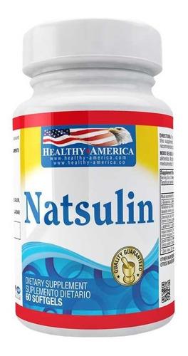 Natsulin Antidiabéticos Reduce Ansia De Dulce Y Comida 60cap