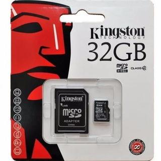 Cartão De Memória Kingston 32gb Sdhc, Classe 4, C/ Adaptador