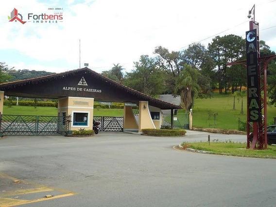 Terreno Residencial À Venda, Alpes De Caieiras. - Te0168