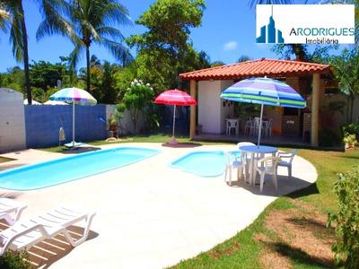 Casa Para Venda Itacimirim, Camaçari 5 Dormitórios Sendo 5 Suítes, 2 Salas, 3 Banheiros, 5 Vagas 480,00 Construída, 1.000,00 Total - Ca00221