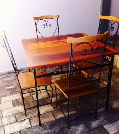 Conjuntos De Mesa E 4 Cadeiras