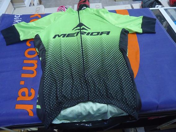 Jersey Ciclismo Merida Negro/verde - Racer Bikes