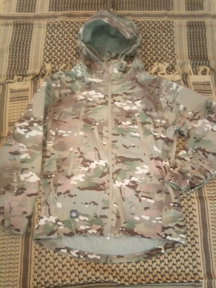 Campera Softshell Táctica Soft Shell Multicam