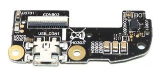 Placa Conector Carga Usb Microfone Zenfone 2 Ze551ml Ze550ml