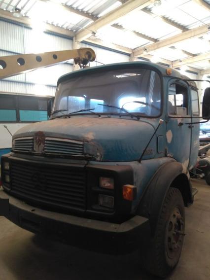 Caminhão Mb 1519 Cabine Leito 6x2 No Chassis Ano 1980