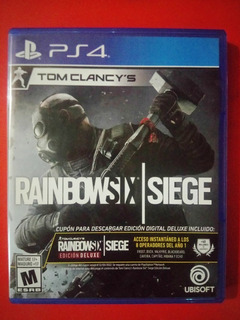 Black Friday Gran Rebaja Ps4 Rainbow Six: Siege Y Mas