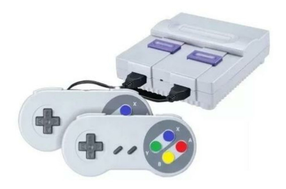 Vídeo Game Mini Super Nintendo Retro _ Console 400 Jogos