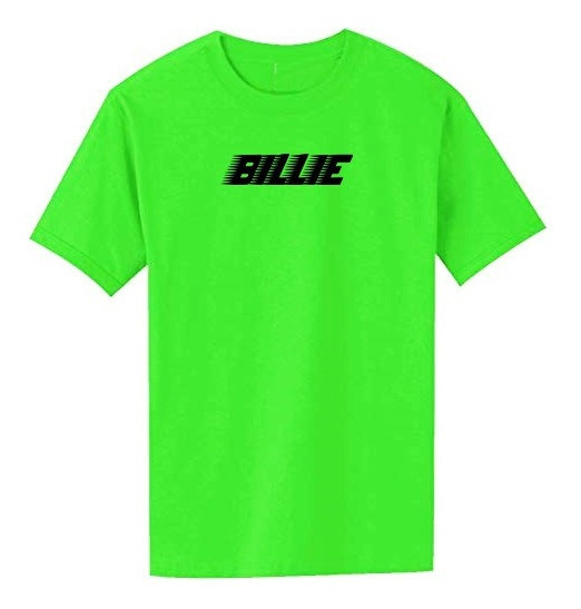 Remera Billie Eilish Verde Neon