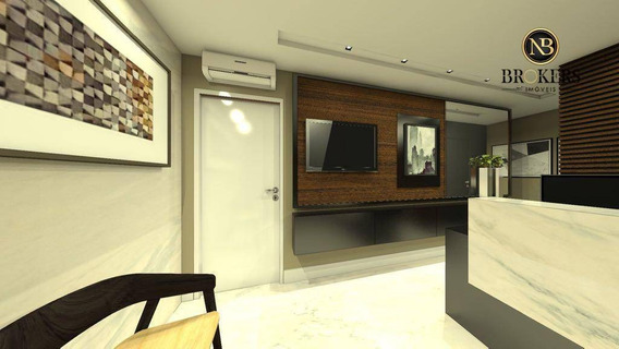 Sala Para Alugar, 71 M² Por R$ 5.900/mês - Centro Cívico - Curitiba/pr - Sa0052
