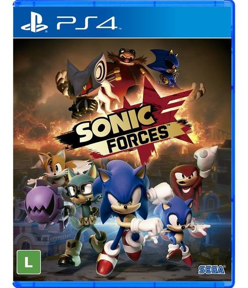 Sonic Forces Ps4 Mídia Física Lacrado Novo Rj