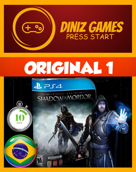 Shadow Of Mordor Ps4 Português