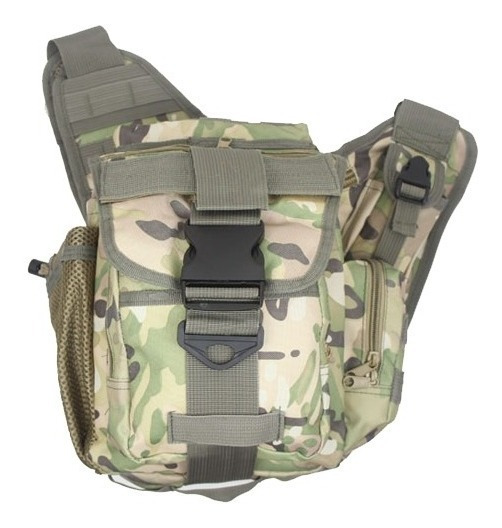Morral Camping Militar Uso Diaro Molle Push Bag Importados