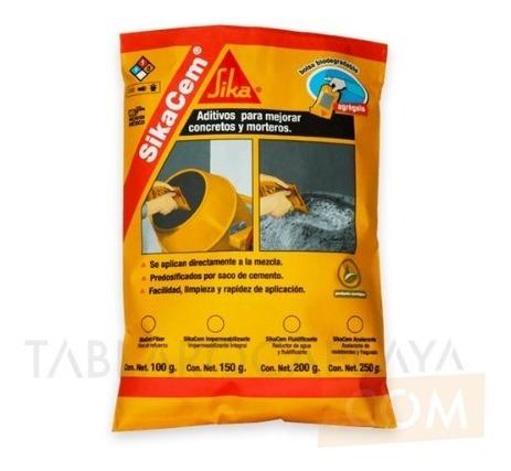 Imagen 1 de 3 de Sikacem Impermeabilizante- Refuerzo Para Cemento