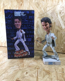 Neca Head Knockers Elvis Presley Viva Las Vegas Handpainted