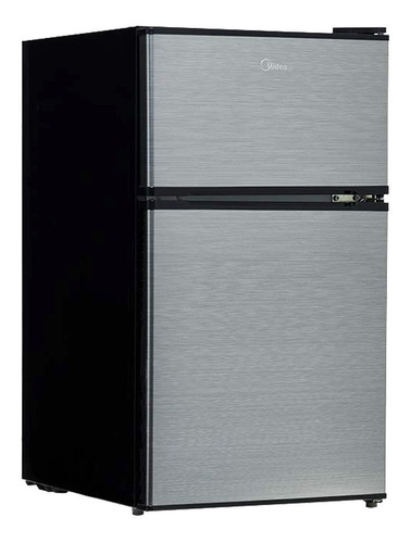 Refrigerador frigobar Midea MRTD04G2NBG silver con freezer 3.4 ft³ 110V