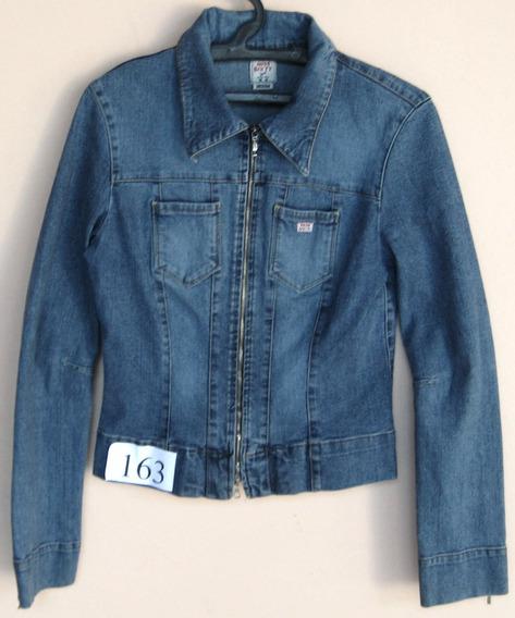 Jaqueta Jeans Da Marca Miss Sixty - Tam M Fem - (cod. J163)