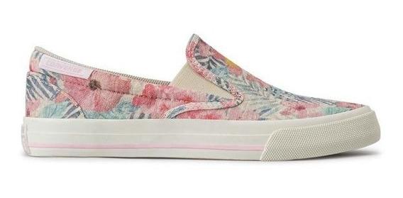 Tenis All Star Femino - Slip Floral Flores Primavera - Moda
