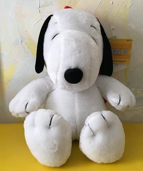 Mochila Pelúcia Do Snoopy