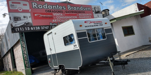 Imagen 1 de 15 de Casa Rodante Brandsen 3,10 Mts P 4 Pers C/baño P Aluminio