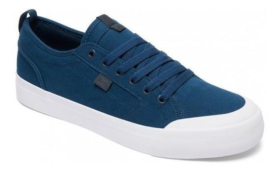 Dc Zapatillas Hombre Evan Smith Tx (tel ) Azul