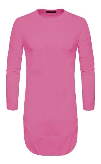 Kit 5 Camiseta Camisa Blusa Longline Oversized - Atacado