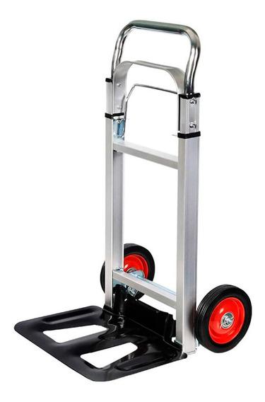 Carrito Plegable Aluminio Zorra Reforzada Gadnic 90kg Pro