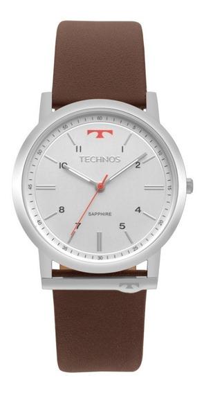 Relógio Technos Masc. Em Couro Clássico Lançamento Gl30fo/1b