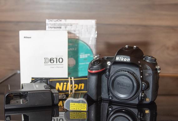 Câmera Nikon 610 Dslr ( Só Para S.p. Capital)