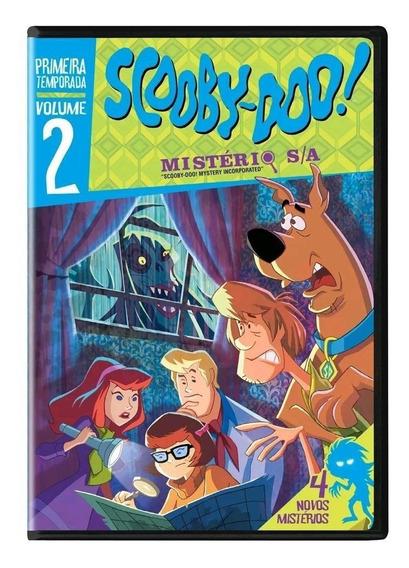 Scooby-doo! - Mistério S/a 1ª Temporada Vol.2 - Dvd - Novo