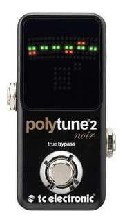 Pedal Afinador Guitarra Polytune 2 Noir Tc Electronics