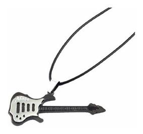 Colar Cordão Guitarra Aço Inoxidável