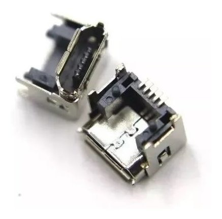Kit Com 10 Conector Dock De Carga Micro Usb Charge 3